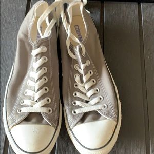 All Sales Donated, Men's Converse Gray